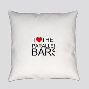 I Love The Parallel Bars Everyday Pillow