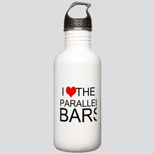 I Love The Parallel Bars Water Bottle