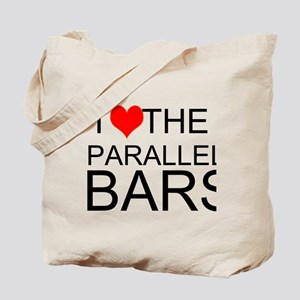 I Love The Parallel Bars Tote Bag