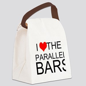 I Love The Parallel Bars Canvas Lunch Bag