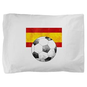 Spain Futbol Pillow Sham