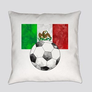 Mexico Futbol Everyday Pillow