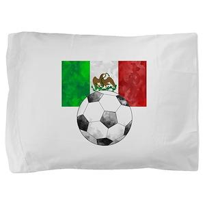 Mexico Futbol Pillow Sham