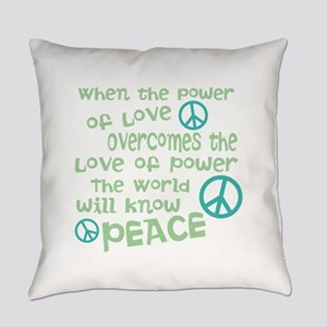 World Peace Everyday Pillow