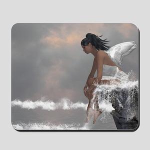 Water Angel Mousepad