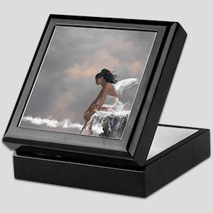 Water Angel Keepsake Box