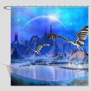 Fantasy Dragons Shower Curtain