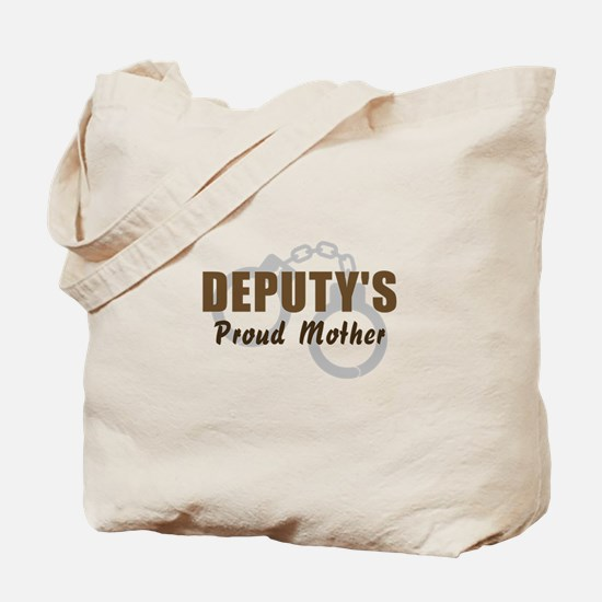Deputy's Proud Mother Tote Bag