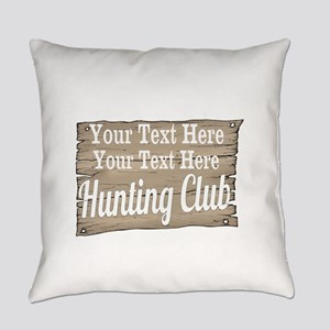 Vintage Hunting Club Everyday Pillow