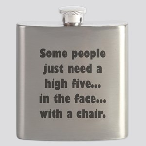 Some people just need a high five...in the f Flask