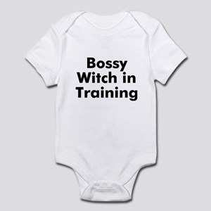 Bossy Witch in Training Infant Bodysuit