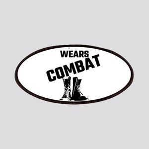 Some Heroes Wear Capes, My Hero Wears Combat Patch