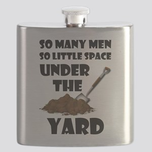 So Many Men So Little Space Under The Yard Flask