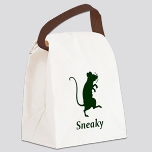 Sneaky Canvas Lunch Bag