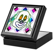 8 Ball Billiard Clown Keepsake Box