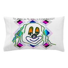 8 Ball Billiard Clown Pillow Case