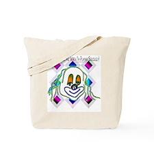 8 Ball Billiard Clown Tote Bag