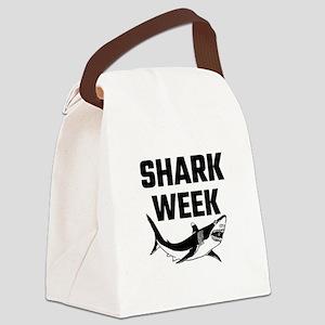 Shark Week Canvas Lunch Bag