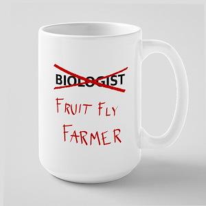 Biology Humor - Fruit Fly Farmer Mugs