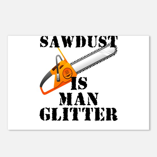 Sawdust Is Man Glitter Postcards (Package of 8)