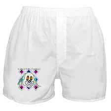 8 Ball Billiard Clown Boxer Shorts