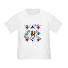 8 Ball Billiard Clown Toddler T-Shirt