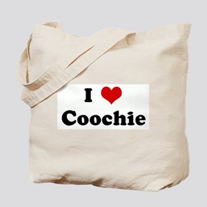 I Love Coochie Tote Bag