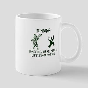 RUNNING sometimes we all need a little motiva Mugs