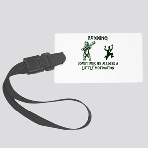 RUNNING sometimes we all need a Large Luggage Tag
