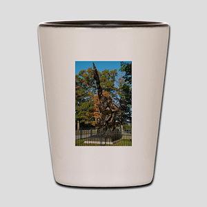Gettysburg National Park - North Caroli Shot Glass