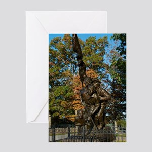 Gettysburg National Park - North Ca Greeting Cards