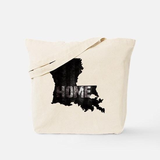 Louisiana Home Black and White Tote Bag