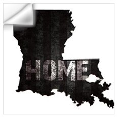 Louisiana Home Black and White Wall Decal