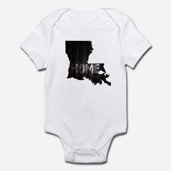 Louisiana Home Black and White Body Suit