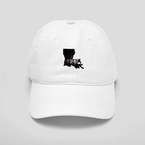 Louisiana Home Black and White Cap