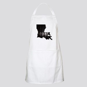 Louisiana Home Black and White Apron
