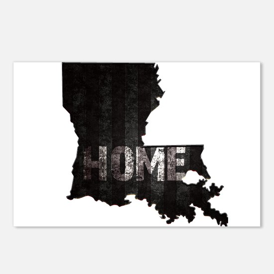 Louisiana Home Black and Postcards (Package of 8)