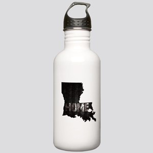 Louisiana Home Black a Stainless Water Bottle 1.0L