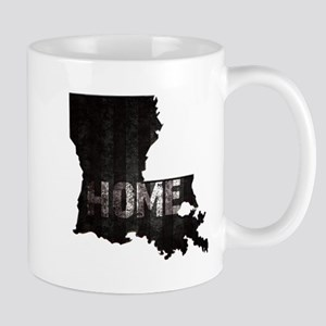 Louisiana Home Black and White Mugs