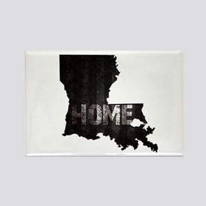 Louisiana Home Black and White Magnets