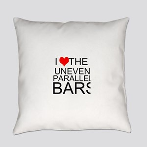 I Love The Uneven Parallel Bars Everyday Pillow