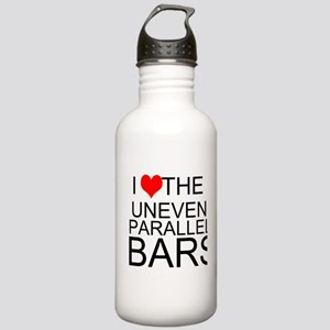 I Love The Uneven Parallel Bars Water Bottle