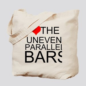 I Love The Uneven Parallel Bars Tote Bag