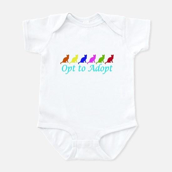 Rainbow Opt to Adopt Infant Bodysuit