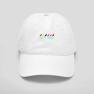 Rainbow Opt to Adopt Cap