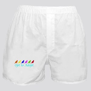 Rainbow Opt to Adopt Boxer Shorts