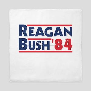 Reagan Bush '84 Queen Duvet