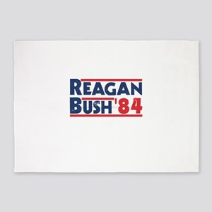 Reagan Bush '84 5'x7'Area Rug