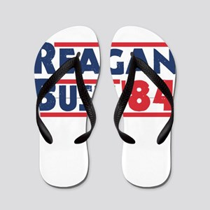 Reagan Bush '84 Flip Flops