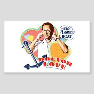 Doctor Love Sticker (Rectangle)